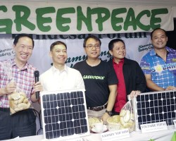 Solar Energy, Green Peace and Department of Energy band together