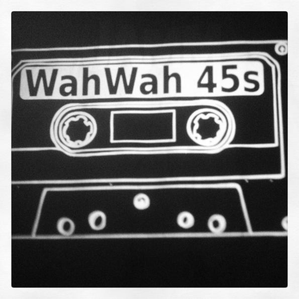 Wah Wah 45s Tape projection