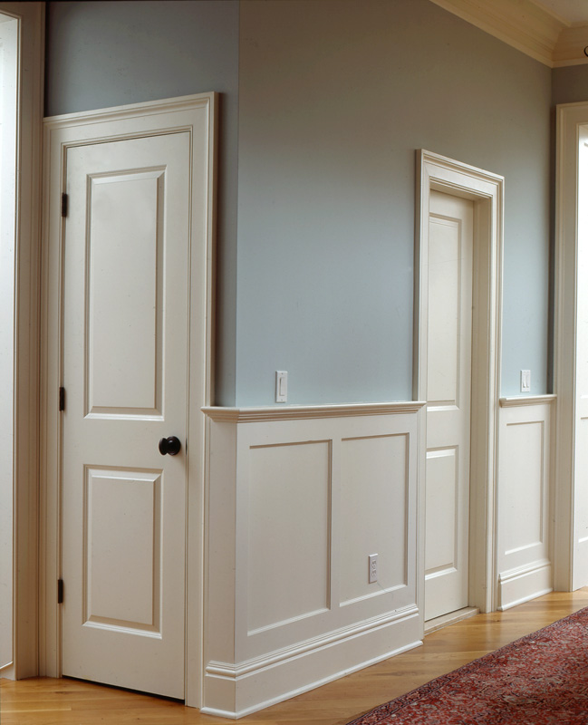 Raised And Recessed Panel Wainscoting