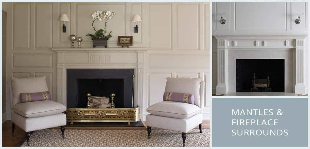 Mantles & Fireplace Surrounds