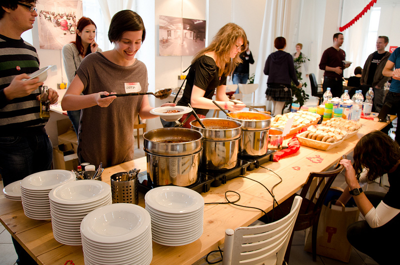 Reinvent the Working Lunch How Catered Meals Can Save Time  Stress