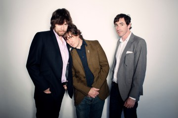 The Mountain Goats - John Darnielle, Jon Wurster, Peter Hughes, June 7, 2012.
