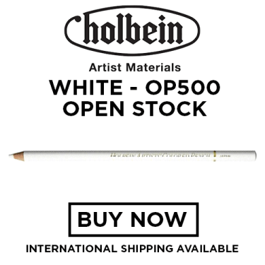 Holbein Colored Pencil OP500 - White