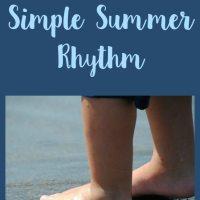 Create a Simple Summer Rhythm