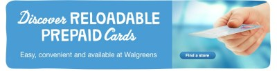 Reloadable Prepaid Cards | Walgreens