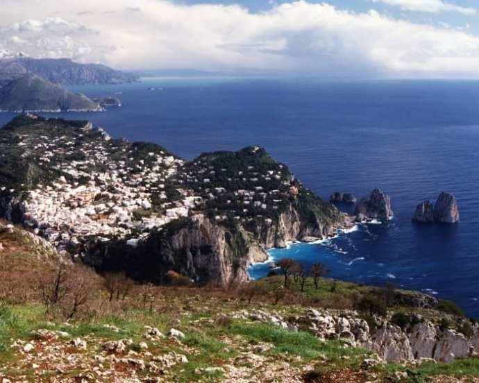 The Amalfi coast of Italy