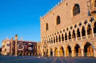 Architecture of the palazzo ducale, Venezia