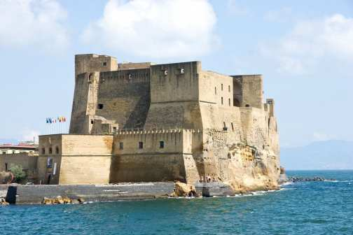 Napoli, Italy's Egg Castle, one of the prettiest in Italy