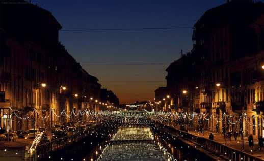 The Navigli at night