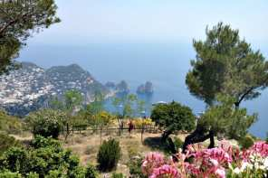 Capri town and Anacapri both boast spectacular views. Photo from Monte Solaro in Anacapri.