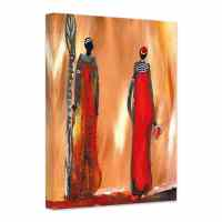 Niksic - Art of Africa Canvas - wall-art.com