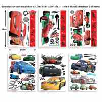 Wall sticker set Disney Cars 81 - wall-art.com