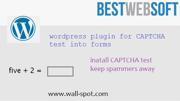 WordPress CAPTCHA Plugin BWS