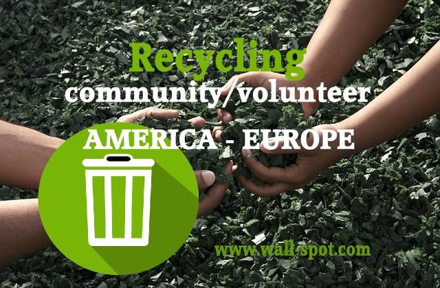 recycle campaign in America and Europe