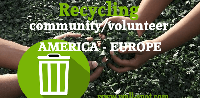 Recycle Used Products America And Europe