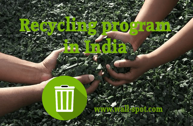 recycling program in India