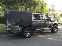 Frame & Canvas Ute Canopy for Tray back utes requiring ...