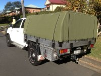 Canvas canopies for toyota hilux