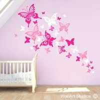 Bird Wall Art Stickers | Butterfly Wall Art Stickers ...