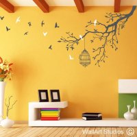 Butterflies Wall Art Stickers | Wall Art Design | WallArt ...
