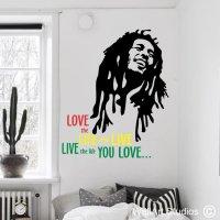 Bob Marley - Wallart Studios