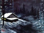 Bob Ross The Joy Of Painting Winter Glory 2009 For