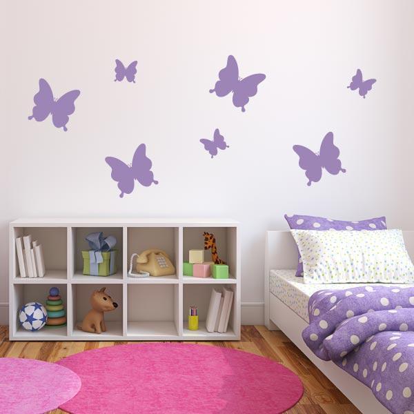 Butterfly Wall Decals Roselawnlutheran