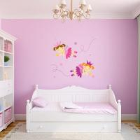 Fairy Wall Decals | Fairy Silhouette Stickers | Wall Decal ...