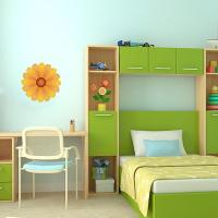 Yellow Flower Wall Decal | Wall Decal World