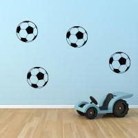 Soccer Ball Decals - Set of 8 | Wall Decal World