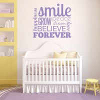 Inspirational Word Blurb Wall Decal | Wall Decal World