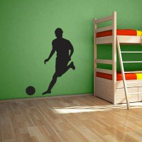 Large Soccer Player Wall Decal | Wall Decal World