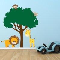 Jungle Tree Wall Decal | Wall Decal World