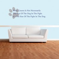 Dog Quote Wall Decal | Wall Decal World