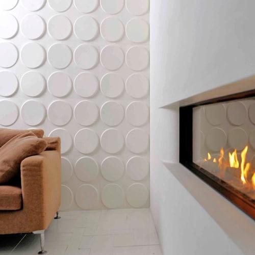 Cheap 3d Brick Wallpaper Ellipses Design Decorative 3d Wall Panels By Walldecor3d