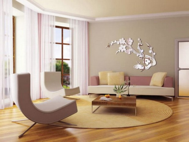 Contemporary Living Room Wall Decorations - Wall Decoration - living room wall decorations