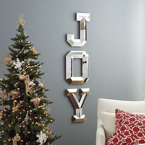 3d Wallpaper For Living Room Wall Mirrored Joy Letters Wall Decoration Pictures Wall