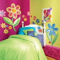 Floral paint wall art - Wall Decoration Pictures Wall ...