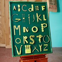 Letters Wall Art - Wall Decoration Pictures Wall ...