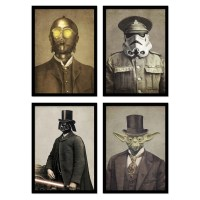 Illustration photo Art Poster and print of star wars in ...