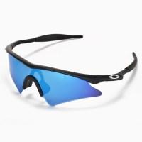 Walleva Ice Blue Replacement Lenses+Earsocks For Oakley M ...