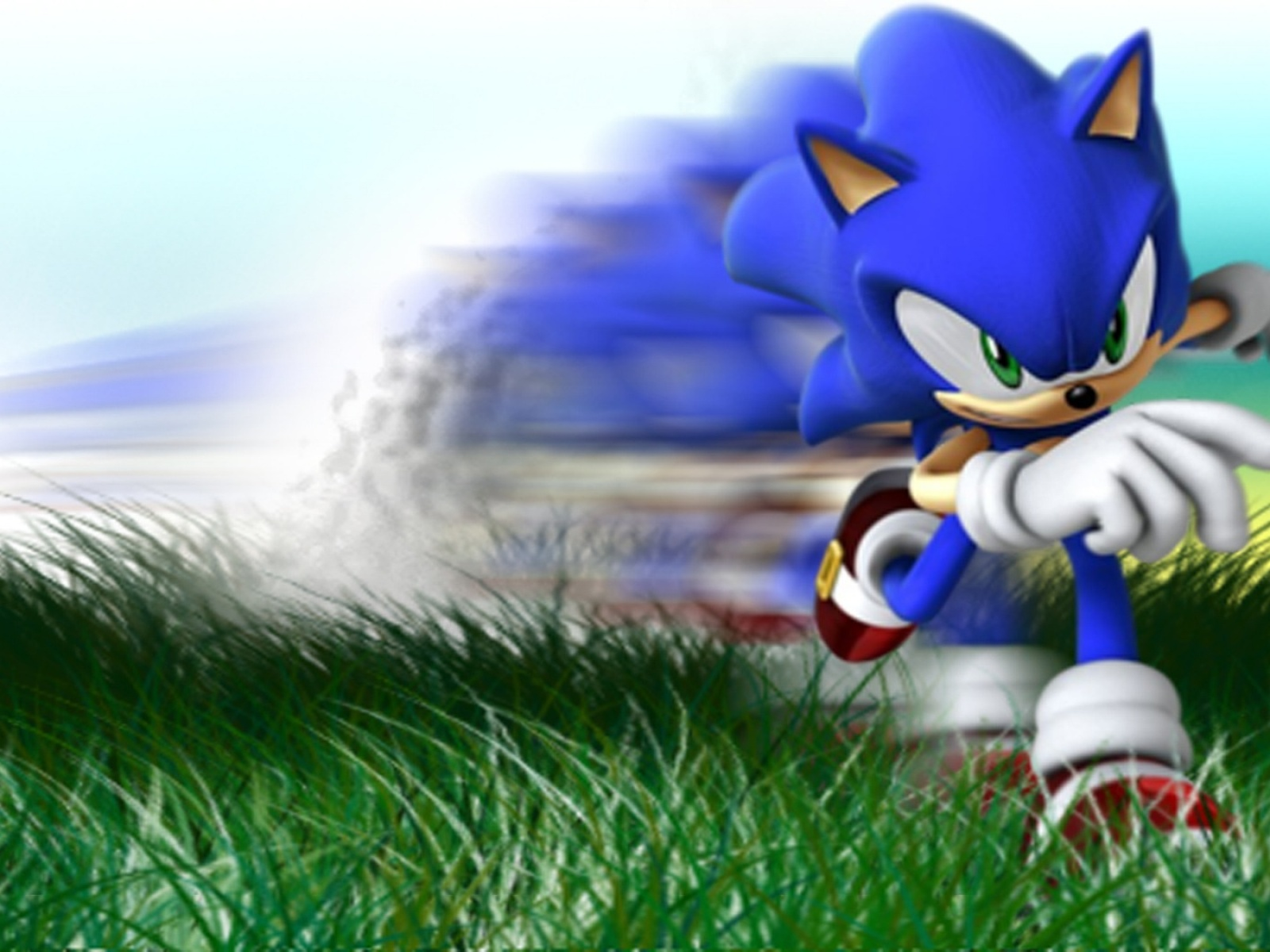 Full Hd Wallpaper For Laptop Fond D Ecran Sonic Speed Wallpaper