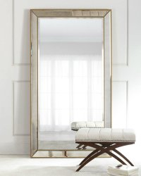 Outstanding Standing Floor Mirrors for a Sparkling Living ...