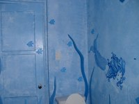 Bathroom Wall Murals by Colette - Painted Bathroom Murals