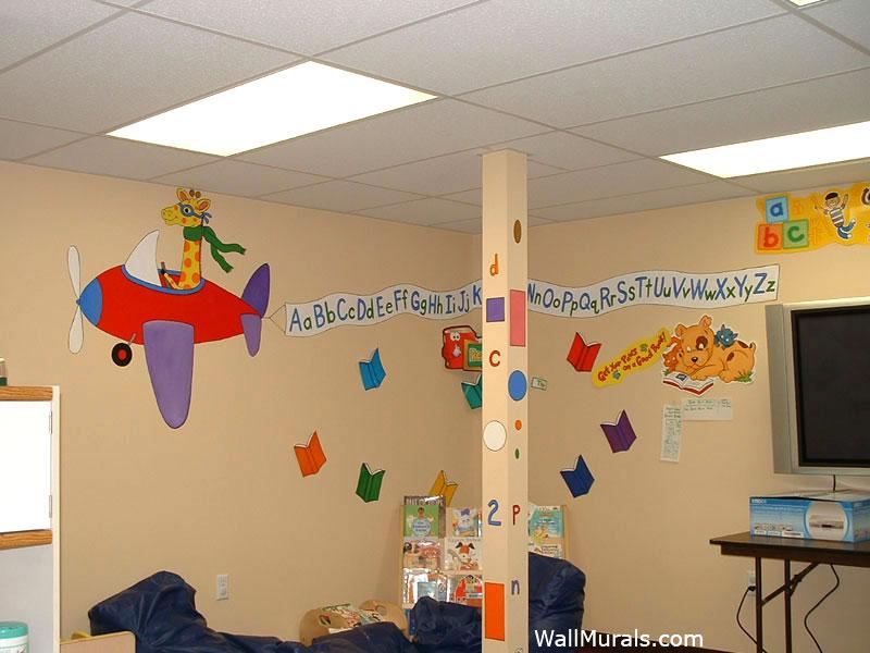 Preschool Wall Murals