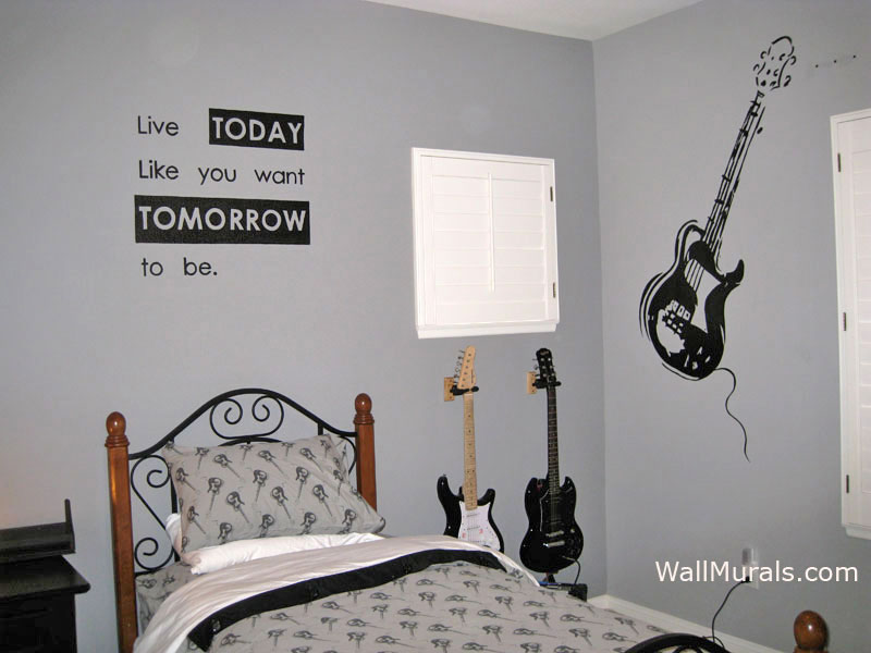 Wallpaper Teenage Girl Bedroom Wall Murals For Teens Amp Tweens Examples Of Wall Murals