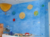 Space Wall Murals Examples - Custom Outer Space Wall Murals