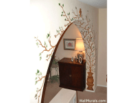 Examples of Living Room Wall Murals, Archway Murals ...