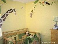 Jungle Wall Murals - Examples of Jungle Theme Murals