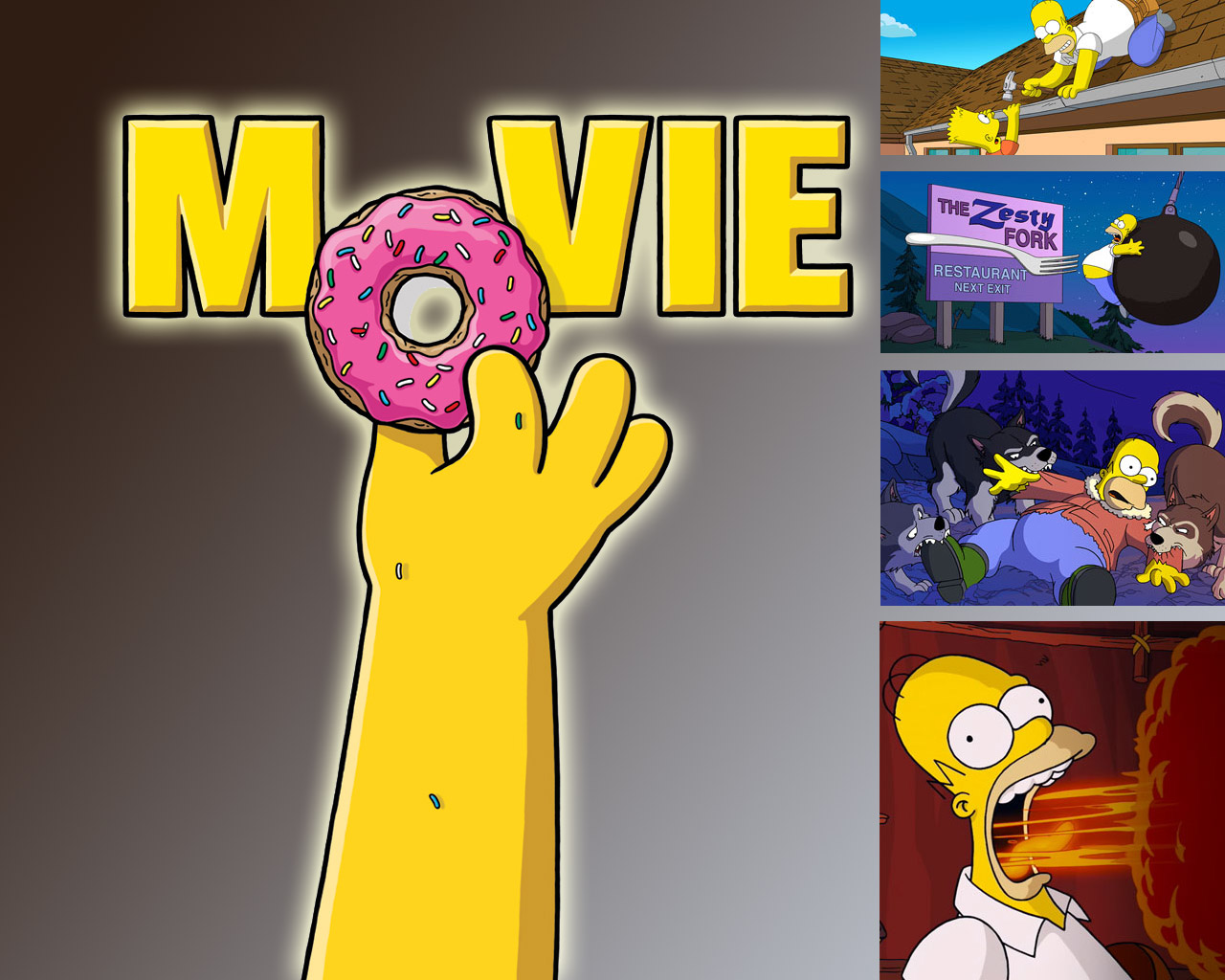 The Simpsons Iphone Wallpaper The Simpsons Movie Wallpaper Free Hd Backgrounds Images